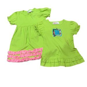 Two LOLLY WOLLY DOODLE Tops Girls Sz 10
